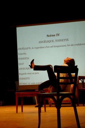 Le Malade imaginaire (photo Cécile Giovansili)